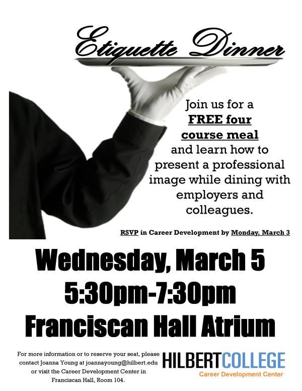 Annual Professional Success Etiquette Dinner