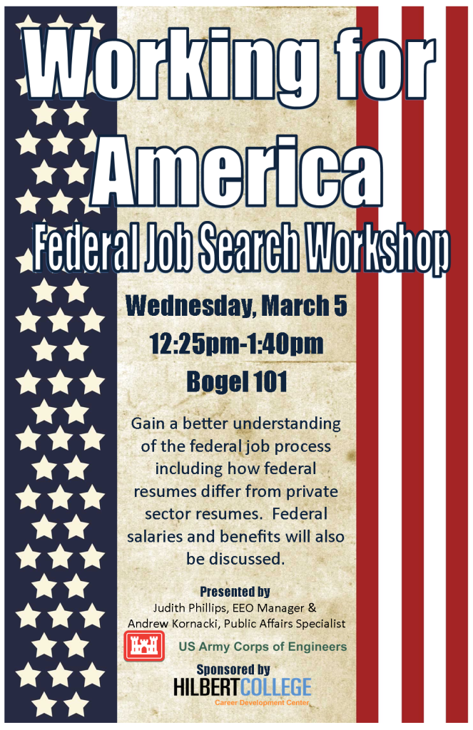 Federal Job Search Workshop