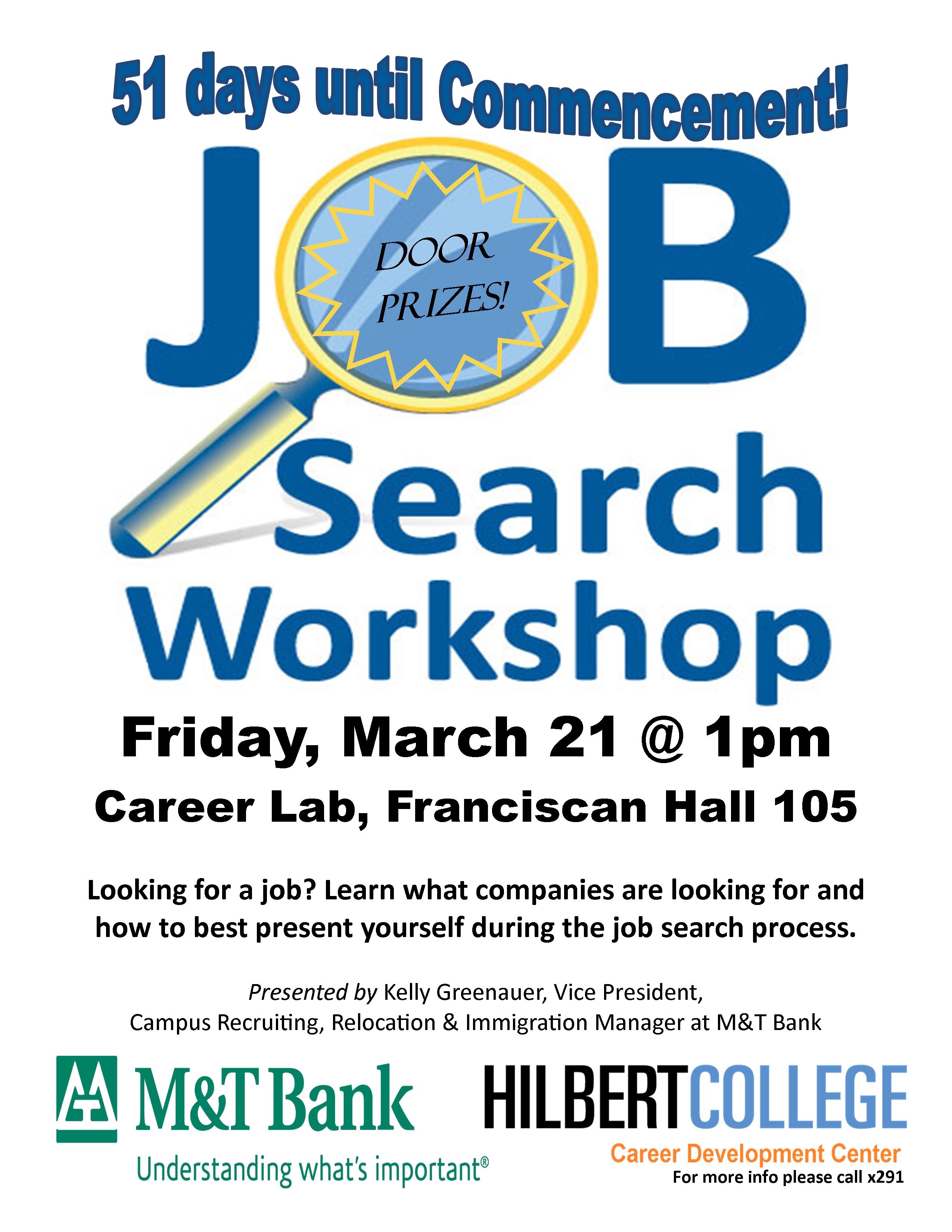 job search workshop hilbert today job search workshop